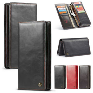 Leather-Flip-Wallet-Card-Slots-Stand-Case-Cover-For-LG-G7-V30-Plus-Q8-X-Power-2