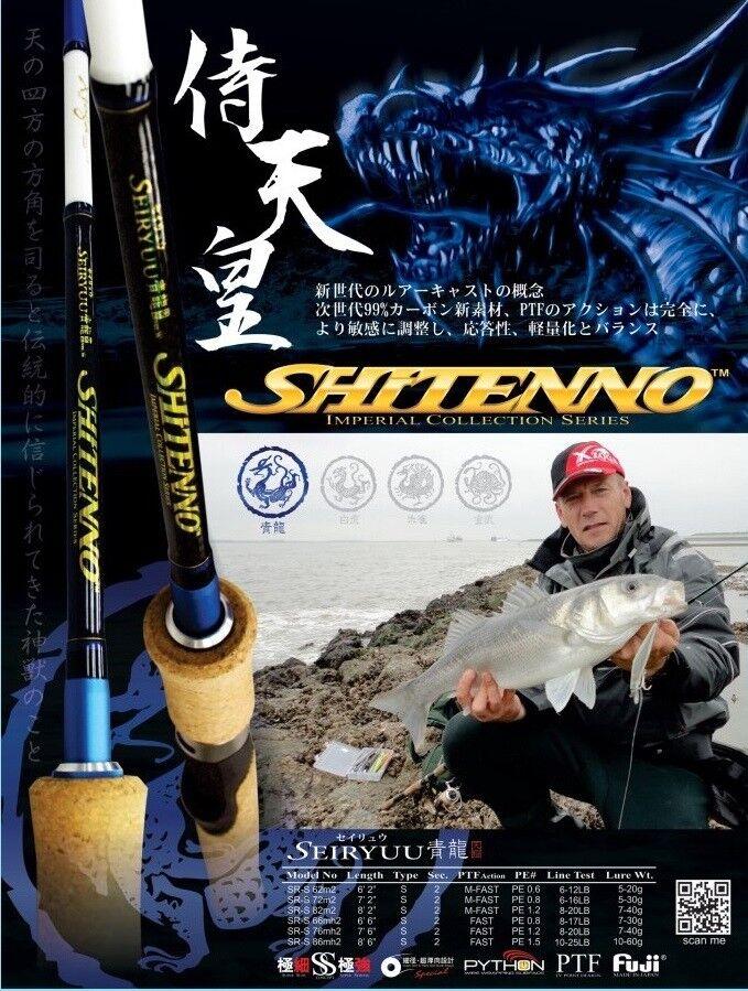 XZOGA ''SHITENNO'' Spinning Rod Sea Fishing Spinning Japan