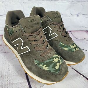 Details about New Balance Men's Size 6 Green Camo 574 Sneakers ML574COB