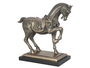 Skulptur-Pferd-original-Veronese-Collection-Pracing-Horse