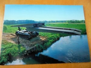 OLD-PPC-BRIDGE-LAYING-LEOPARD-TANK-PROMO-DUTCH-ROYAL-ARMY-KONINKLIJKE-LANDMACHT