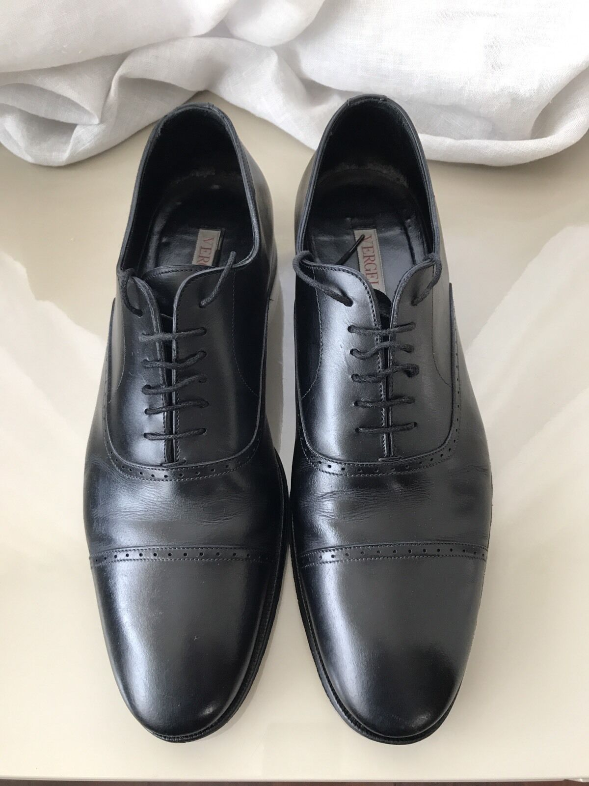 marche online vendita a basso costo VERGELIO SCARPE SCARPE SCARPE UOMO  MADE IN ITALY ITALIAN scarpe FOR Uomo MIS . 42  risparmia il 60% di sconto e la spedizione veloce in tutto il mondo