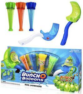 ZURU-Bunch-O-Balloons-DUAL-LAUNCHER-140-Stueck-selbstschliessende-Wasserbomben