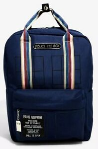 Details About Doctor Who Thirth 13th Double Handle School Camp Book Bag Backpack