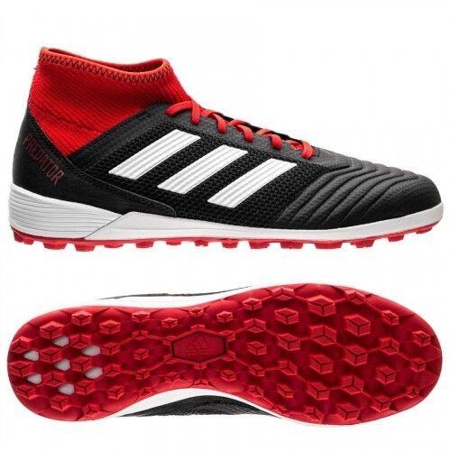 Scarpe calcetto uomo ADIDAS Prossoator 18.3 TF nero e rosso DB2135