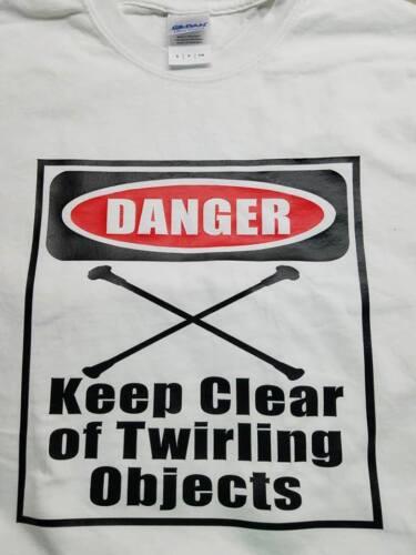 Ladies NEW Mens Short Sleeve Majorette Twirling T Shirt Women Gildan Brand