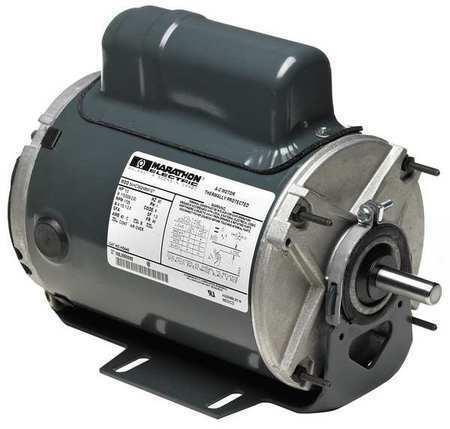 MARATHON MOTORS 5KH33JN3121 Farm Duty Motor,1//3 HP,1725 RPM,115V,48