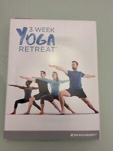 3 week yoga retreatbeachbody  never used  ebay