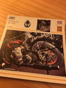 Ariel-1000-Square-oven-MK1-MK2-1949-1959-Card-motorrad-Collection-Atlas