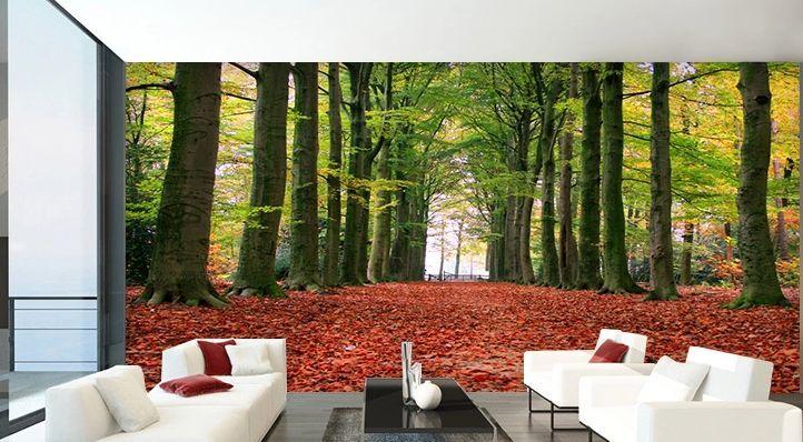 3D Deciduous woods 161 WallPaper Murals Wall Print Decal Wall Deco AJ WALLPAPER