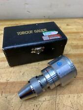 Tohnichi Torque Gauge Btg6oz Analog Torque Gauge 6 60 Ozf In 1ozin Graduation