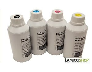 Details about 4 x 1000 ml Premium Dye Refill Ink for Epson EcoTank printer  ET-3600 ET-16500