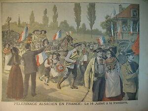 ALSACE-PELERINAGE-FRONTIERE-FRANCAISE-CHORALE-ARTILLEURS-LE-PETIT-JOURNAL-1897