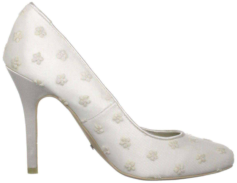 SIZE UK IVORY 5.5 6 39 MENBUR LIA IVORY UK TULLE LACE SATIN BRIDAL WEDDING Schuhe 228ec3