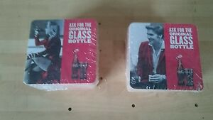 coca cola home pub//bar//mancave brand new Marilyn monroe beer mats