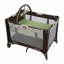 GRACO PACK N PLAY w/BAG PLAY PEN Boy Girl Infant Baby Sleep Play Travel EZ Fold