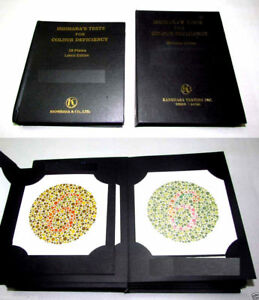 Ishihara Color Test Book