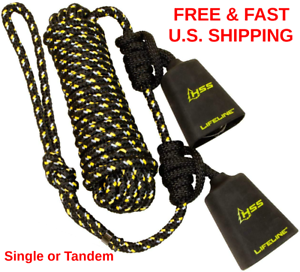 Treestand Lifeline Reflective 2 Man Safety Rope W