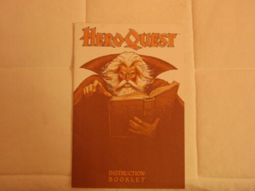US Hero Quest Game System cards tiles questbook components  Heroquest USA