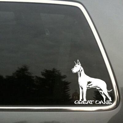 Great Dane car truck vinyl decal die cut sticker