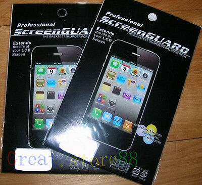 3x Clear LCD Screen Protector Guard Shield Film Cover FOR apple iphone 7