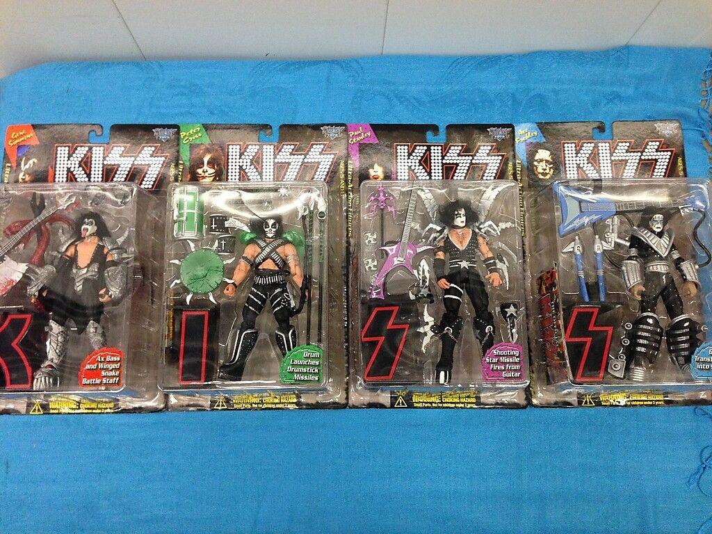 McFarlane giocattoli Kiss Ultra azione cifras set of  4 - Gene, Paul, Peter, Ace  Sconto del 40%