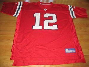 red tom brady jersey