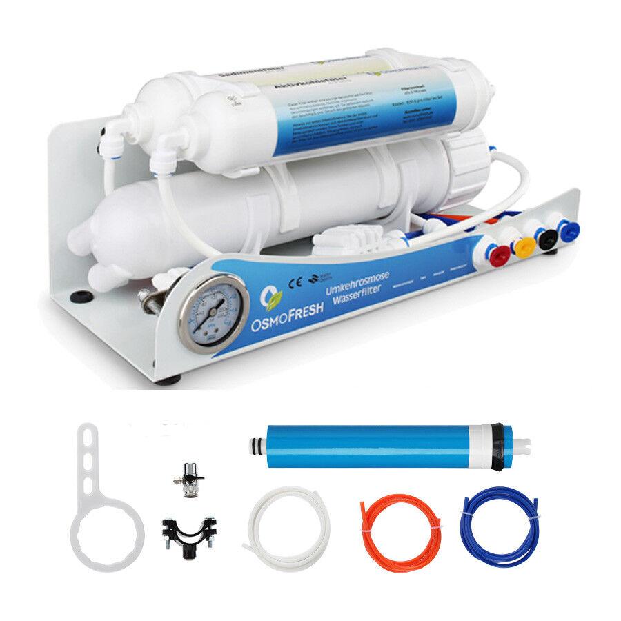 in vendita Osmosi impianto osmosi osmosi osmosi inversa oro 50 GPD - 190 LITRI  articoli promozionali