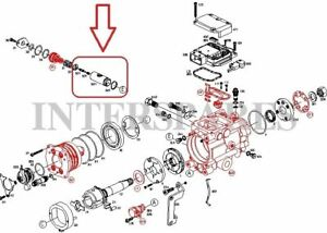 Details about Bosch fuel pump timing device piston Opel Astra Vectra on