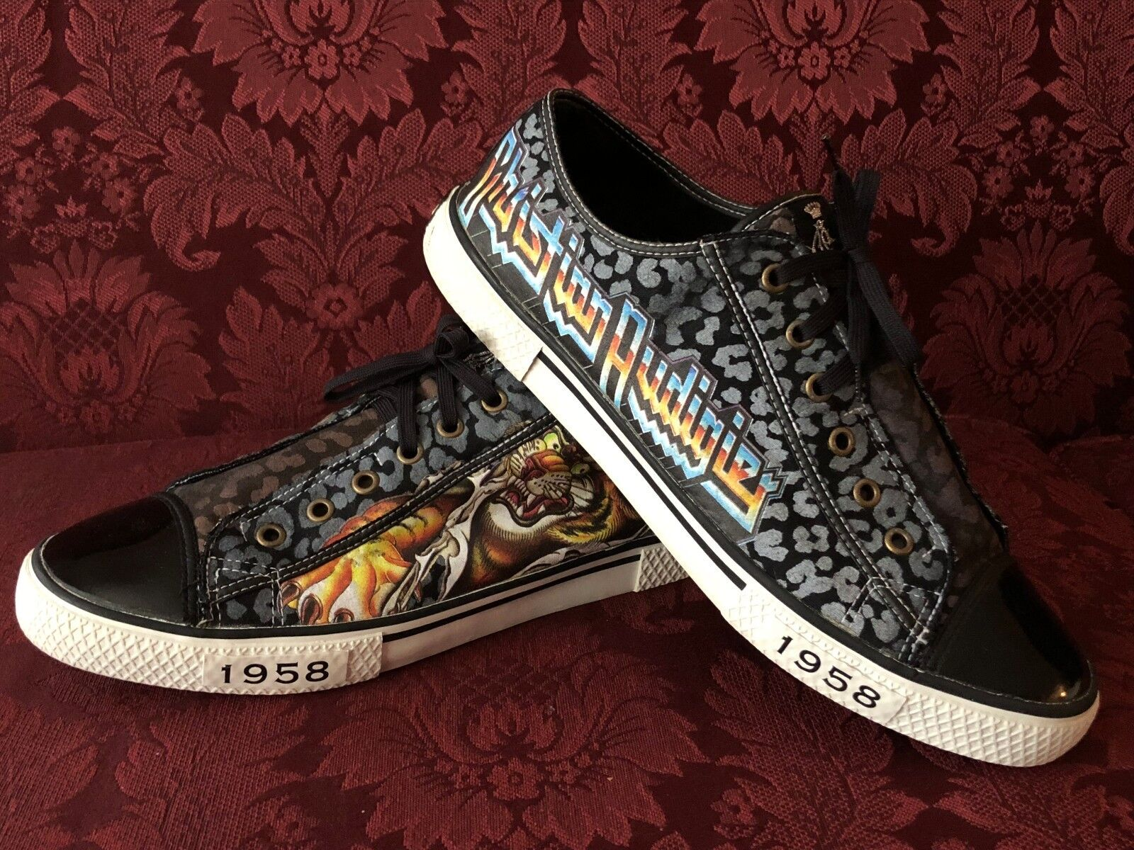 Christian Audigier Casual Sneakers Men Size 11