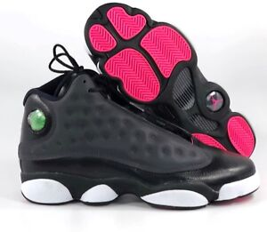pre order sale online get cheap Details about Nike Air Jordan 13 XIII Retro GG Black Anthracite Grey Pink  439358-009 8.5Y