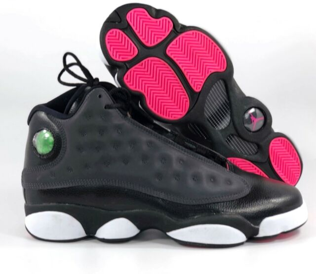 the latest c0432 83fc3 Nike Air Jordan 13 XIII Retro GG Black Anthracite Grey Pink 439358-009 8.5Y