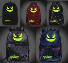 Pokemon Backpack Noctilucence Gengar Face School Bag (Multiple Type)