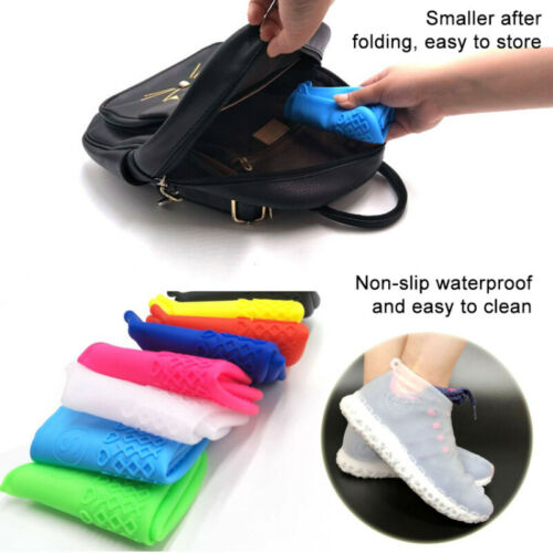 Silicone Overshoes Rain Rainproof Shoe Covers Boot Cover Protector Recyclable