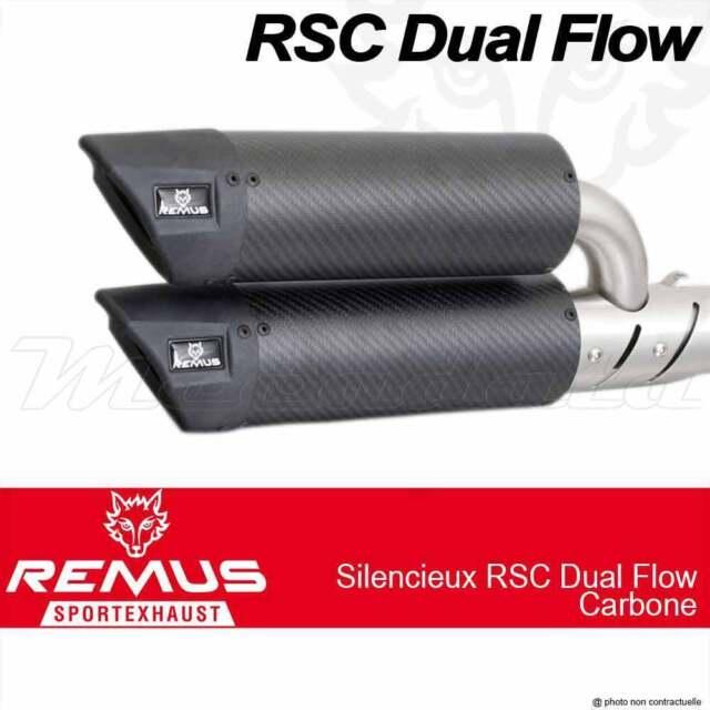 Paire silencieux Remus RSC Dual Flow avec cat Vespa GTS 125 ie Super M(45) 2008