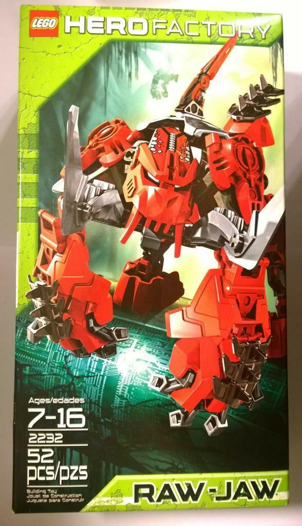 LEGO Hero Factory  Raw-Jaw (2232)  più economico
