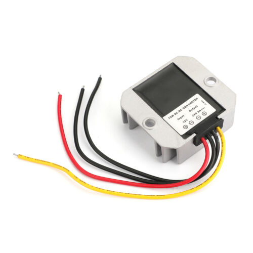 12V Auf 24V DC-DC Step Up Boost Spannungswandler 3A 72W Industrie-Netzteile F3