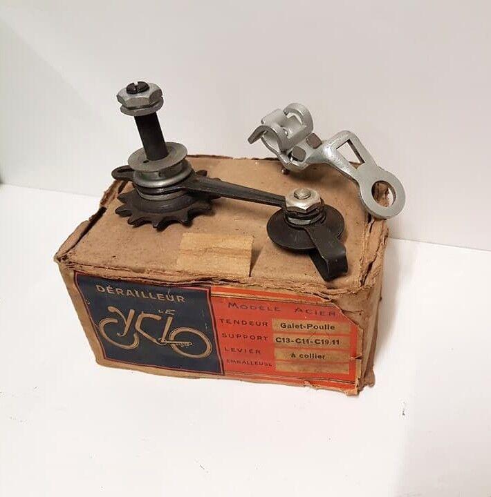 Nuevo En Caja LE CYCLO Desviador Trasero Hecho En Francia Vintage SIMPLEX HURET súper campeón