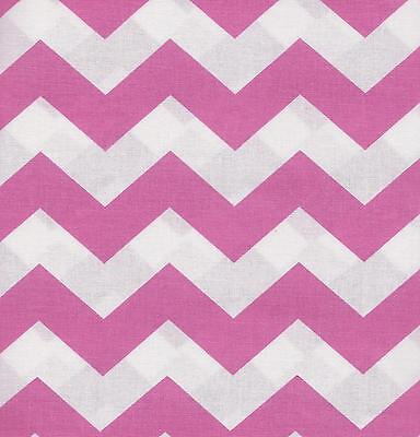 By The Yard LARGE CHEVRON QUILT FABRIC:TONAL 100/% COTTON ORANGE LC-17