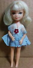 "Uneeda Tiny Teen Mini Doll 5"" RARE Time 1967 Topper Dawn Dolly Darling Clone"