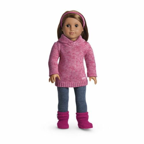 Ski Chalet Winter American Girl Doll Cozy Sweater Leggings Outfit NEW!