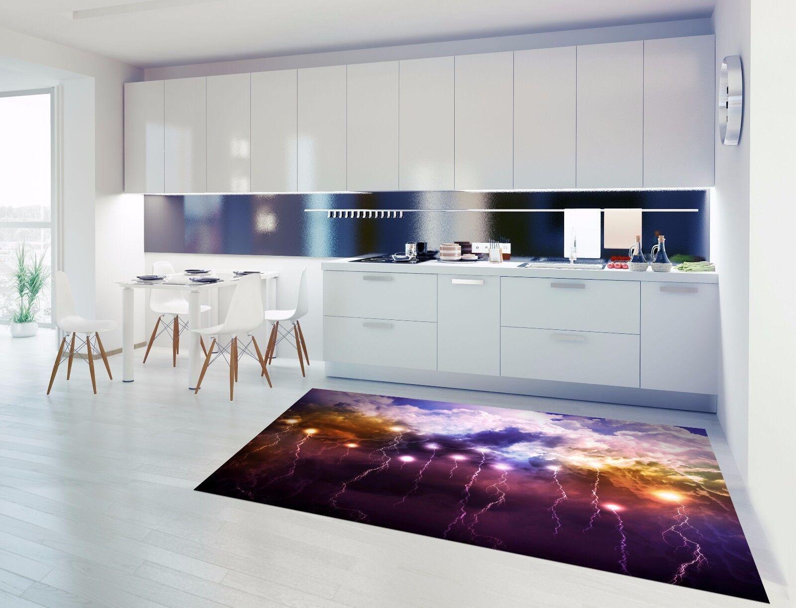 3D Flashing Sky 8 Kitchen Kitchen Kitchen Mat Floor Murals Wall Print Wall AJ WALLPAPER AU Carly a2f1ed