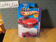 HOT WHEELS Burgundy Toyota Scion FRS Car SCALE 1:64 (MALAYSIA)On Long Card
