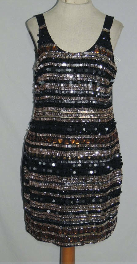 Romeo And Juliet Dress w Rhinestones   Sequins NWT sz SM  218.00