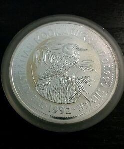 1992 Kookaburra Silver Bullion Coin 10 Oz Perthmint 999 Ebay