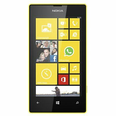 NOKIA Lumia 520 Win8 smartphone Yellow Unlocked