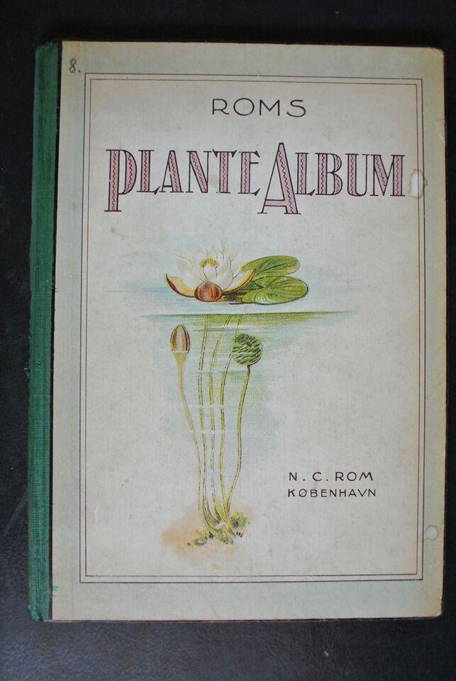 roms plante-alnum, emne: biologi og botanik
