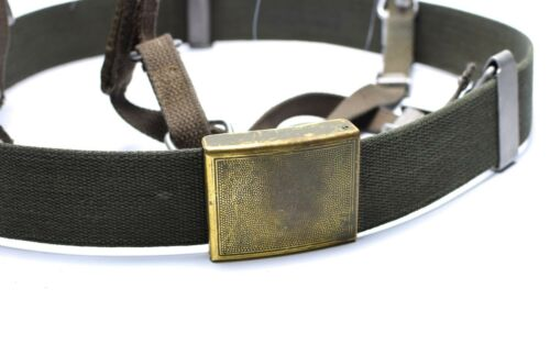 German army Y-strap suspenders belt webbing set system tactical harness pack kit