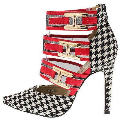 NEW Pointy toe Pump Stiletto Heel high Platform Sandals Fashion Shoes Size H120