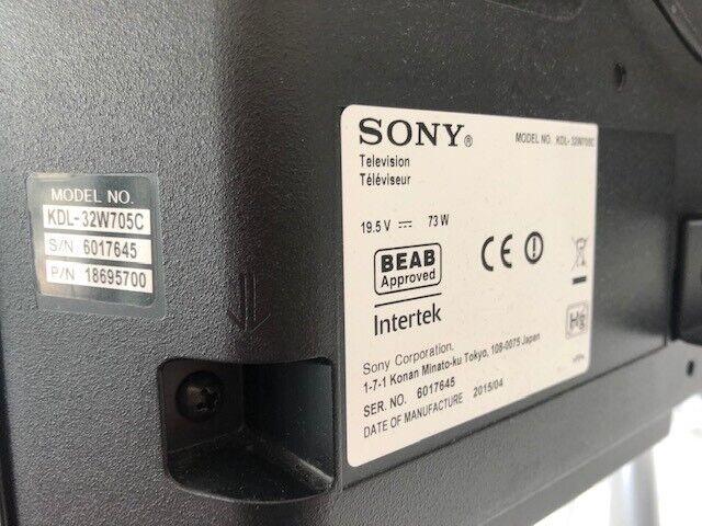 LED, Sony, KDL-32w705c